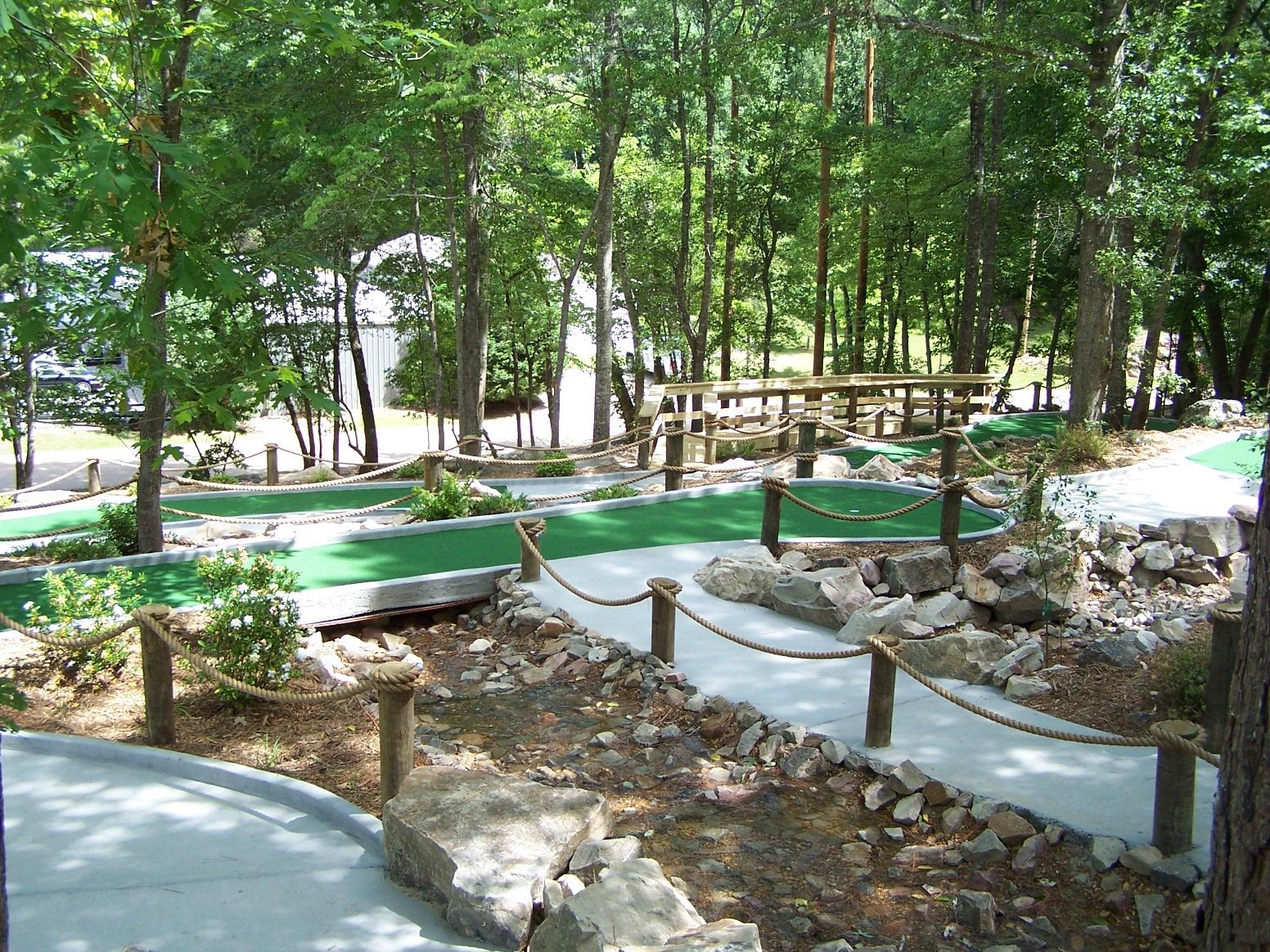 chesnut bay resort u0027s new mini golf u0026 zip line cherokee county