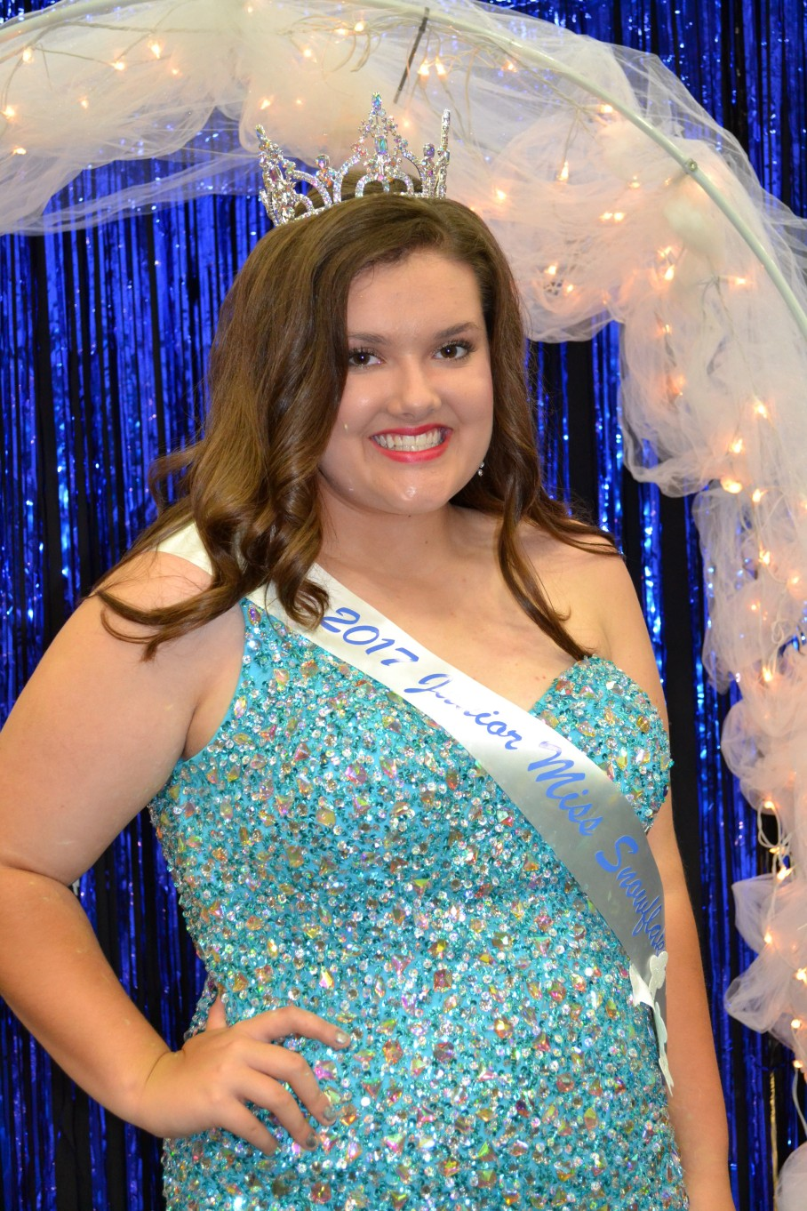 Junior Miss Snowflake Claire Williams