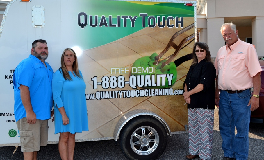 Ribbon Cutting Quality Touch Cleaning 4