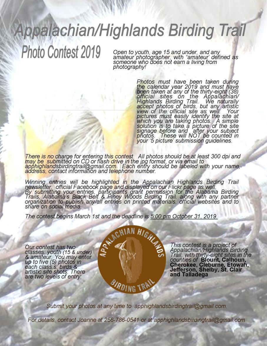 Photo Contest Flyer2019AH