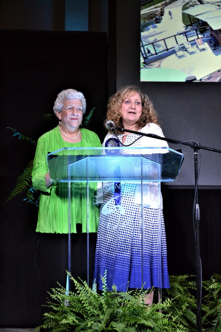 Annual Meeting 2019 Barbara & Thereasa