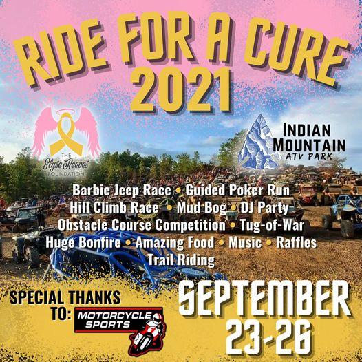 INDIAN MOUNTAIN ATV PARK ride cure